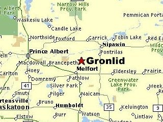 Gronlid map